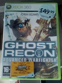 Tom Clancy's Ghost Recon Avanzado Warfighter Xbox 360 caso de juego Guardamar del Segura, 03140
