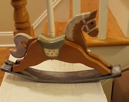 Small table size rocking horse