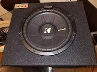 Kicker Comp S Series 10 loaded subwoofer box ( one Toronto