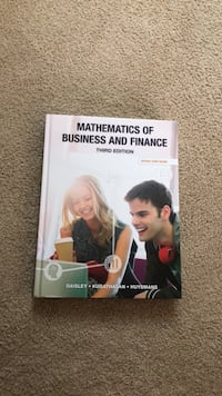 Mathematics of business and finance third edition