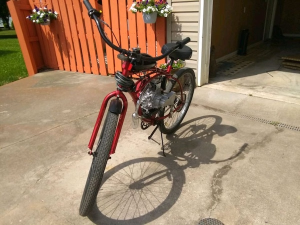 Motorized bicycle, faster than moped