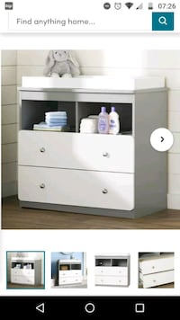 Drawer and changing table/station