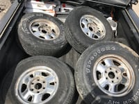 """16"""" wheels and tires  Warrensville Heights, 44128"""