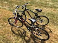 black and red hardtail mountain bike Westminster, 21158