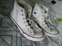 pair of white Converse All Star high-top sneakers Wichita, 67209