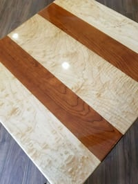 Figured Maple cherry end table  Apalachin, 13732