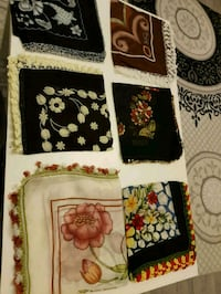 Assorted-Color floral Yazma Kopftuch 6717 km