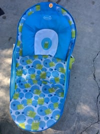 baby's blue and green Summer bather 2303 mi
