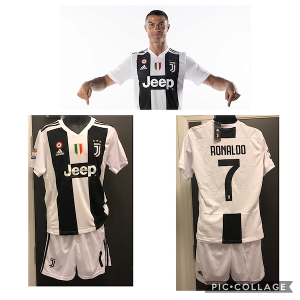 finest selection 46195 60630 Cristiano Ronaldo Juventus Kit Jersey & Shots
