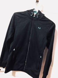 Black under armour zip-up jacket Toronto, M9W 7J5