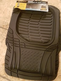 black car mat for front and back. Never used. Brand new Toronto, M9L 2T6