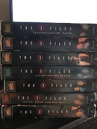 X-files episodes ON VHS