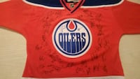 Farewell to Rexall team signed Oilers jersey  Edmonton, T6H 5S6