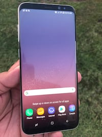 AT&T GALAXY S8 PLUS CLEAN IMEI CRACKED SCREEN Orange, 92868
