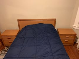 Full bed with nights Stan FREE