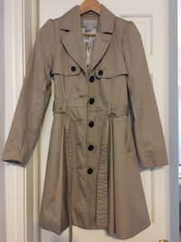 Never worn Trench coat, Size 2
