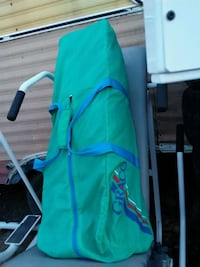 green and blue camping chair Grand Junction, 81501