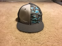 black and gray fitted cap Martinsburg, 25403