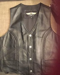 Motorcycle leather vest size XL Orchard Beach, 21226