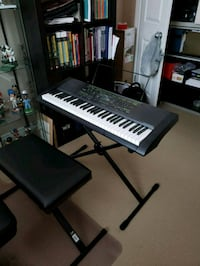 Casio CTK 2000 Full size keyboard with seat  Hamilton, L9A 1L1