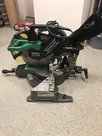 Like New Hitachi Mitre saw