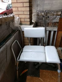 Shower chair and 2 iv poles Donora, 15033