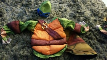 Boys Leonardo ninja turtle halloween/pretend play costume