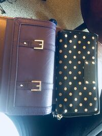 two black and blue leather wallets Surrey, V3X