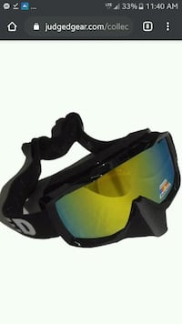 Judged snowmobile/ski goggles  Fargo, 58102
