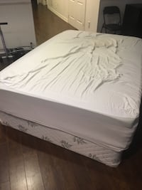 Double Mattress and Box Spring  TORONTO