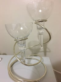 clear glass footed wine glass Toronto, M9L 2C6