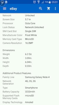 Galaxy note 4 unlocked