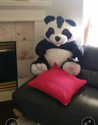 Large panda teddy bear like new condition. Kept in plastic