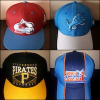 SnapBack & Fitted Hat Lot Toronto, M6A 2T9