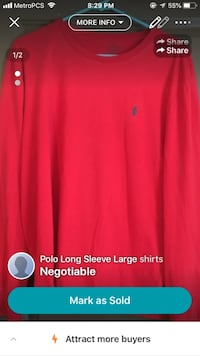 Large Long Sleeve Polo Shirts Gainesville, 32607