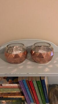 rose gold glads candle holders Mount Pleasant, 28124