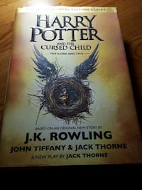 Harry Potter and the curse child book Arlington, 22206