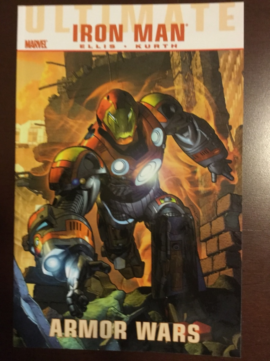 Marvel Ultimate Graphicnovels - iron man Spider-Man xmen - United States