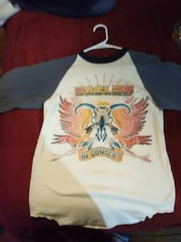 Eagles The Long Run tour 79 jersey style long slee Portland, 04101