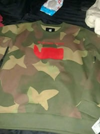 Brand new G star camo sweater Gaithersburg, 20877