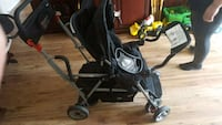 baby's black and gray stroller West Kelowna, V4T 1G9