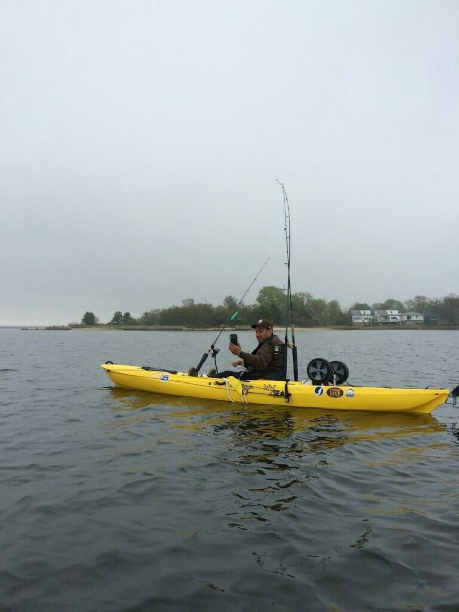 Used fishing kayak in new york for Used fishing kayak