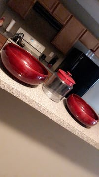 Red Vases (Bowls) Home decor accents  Atlanta, 30311