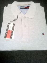 polo gris Tommy Hilfiger Montreuil, 93100