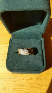 Diamond With Sapphires Ring Dugald, R0E 0K0