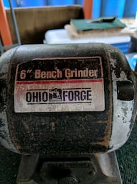 "Ohio Forge 6"" bench grinder Orlando, 32801"