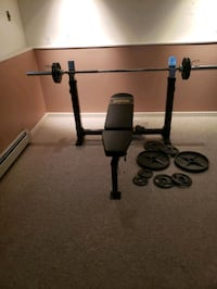 Used bench press  weightlifting equipment Surrey