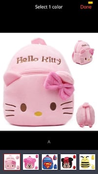 Cute pink hello kitty baby toddler backpack  Memphis, 38016