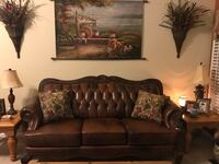 Leather Sofa and Chair Macon, 31220