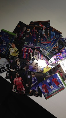 soccer player trading card collection